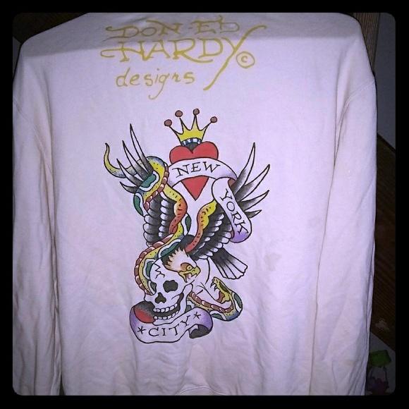 Ed Hardy Jackets & Blazers - Ed hardy deaigns jacket